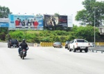 Free standing billboard